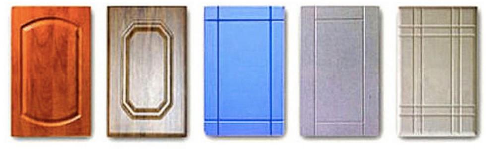 Фасады для кухни сравнение>