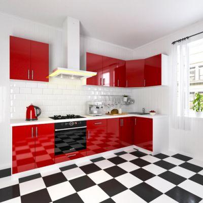 Кухонный гарнитур угловой 1.1 х 3.1 м
