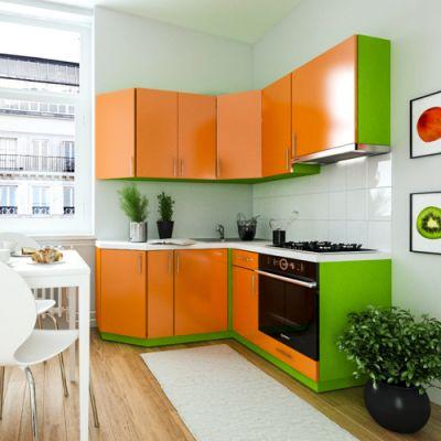 Кухонный гарнитур угловой 1.6 х 1.6 м