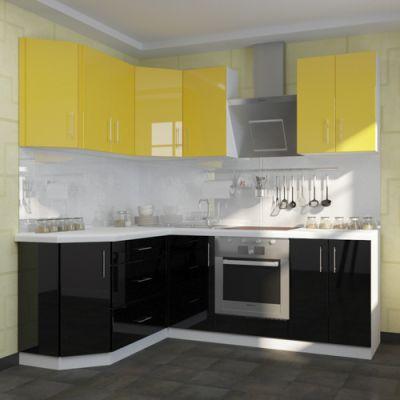Кухонный гарнитур угловой 1.6 х 2.2 м