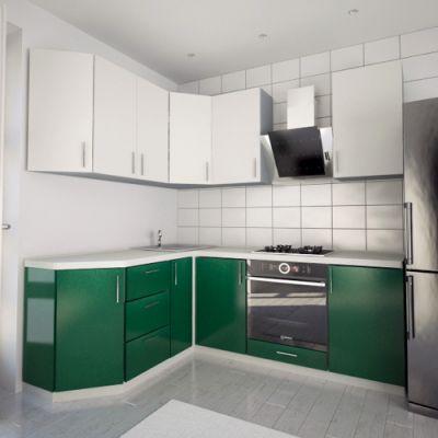 Кухонный гарнитур угловой 1.9 х 2.2 м