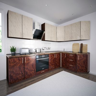 Кухонный гарнитур 1.9 х 2.8 м