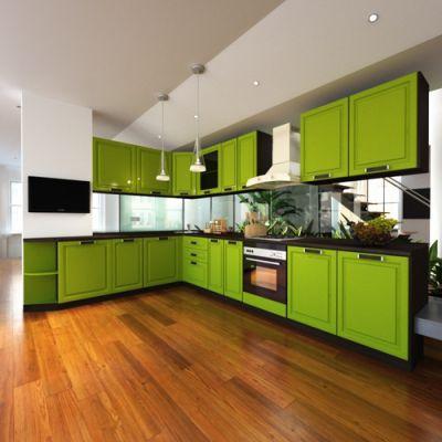 Кухонный гарнитур угловой 1.9 х 3.0 м