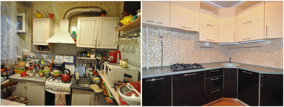 Ремонт кухни 8 кв м фото своими руками