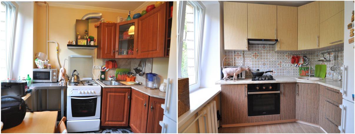 Кухни своими руками 6 кв